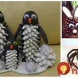 Len pár opadaných šišiek a kúsok plastelíny: 23 úžasných nápadov na roztomilé postavičky zvieratiek, ktoré si vaše deti zamilujú!