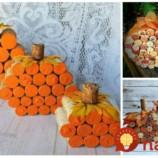 Roztomilé jesenné tekvice z korkových zátok – vydržia vám celé roky: Stačí len zlepiť a postaviť na stôl – na toto sa nebudete vedieť vynadívať!