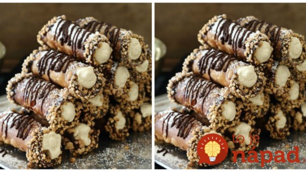 Nepečené orechové trubičky: Ani náhodou ich nerobím len na Vianoce, na každej oslave sa za nimi idú hostia zblázniť- top recept!