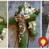 Namiesto vencov z umelej hmoty: 19 krásnych nápadov na spomienkové dekorácie zo šišiek, machu a prírodných materiálov!