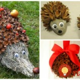 19 prenádherných nápadov na jesennú dekoráciu, vďaka ktorým sa oplatí zbierať opadané bukvice: Jedna krajšia, ako druhá!