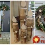 Žiadne umeliny a predražené dekorácie z obchodu: Úžasné dekorácie na jeseň a advent, ktoré si šikovní ľudia vytvorili z dreva – toto vás bude tešiť každý rok!