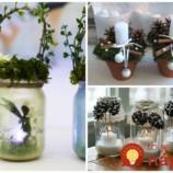 18 krásnych nápadov na doma zhotovené kahance a svietniky, ktoré využijete aj na sviatok všetkých svätých!