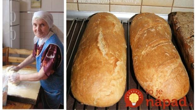 7-dňový chlebík podľa mojej starkej: Takýto chleba v obchode nekúpite, vydrží vám mäkký celý týždeň!