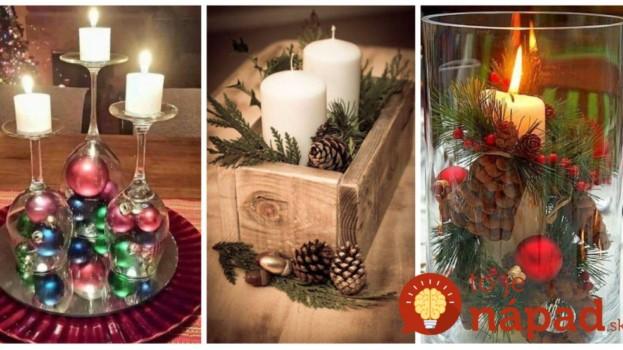 22 čarovných dekorácií na stôl, ktoré nemusíte kupovať: Dôkaz, že v jednoduchosti je krása aj kúzlo sviatkov!