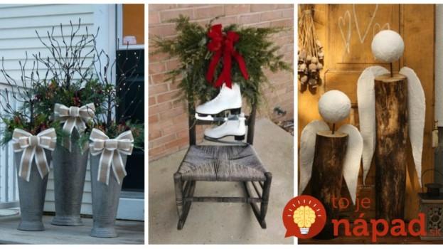 Skúste tento rok niečo iné, ako veniec na dvere: 22 krásnych nápadov na adventné dekorácie, ktoré okúzlia už na prvý pohľad!