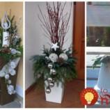 Keď na jeseň zazimujete kvety, črepníky neschovávajte: 21 čarovných nápadov, ako ich využiť na krásnu adventnú dekoráciu!