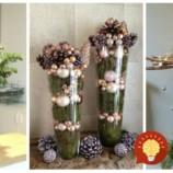 Nevešajte ozdoby len na stromček, toto vyzerá úžasne: 21 úžasných dekorácií, ktoré stačí dať do sklenenej nádoby a postaviť na zem!