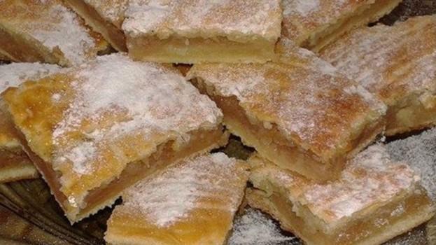 Staromaďarský jablkový koláč: Jablká sa nestrúhajú a to cesto tromfne aj linecké – nesmierne rýchly a výborný koláč prababičiek!