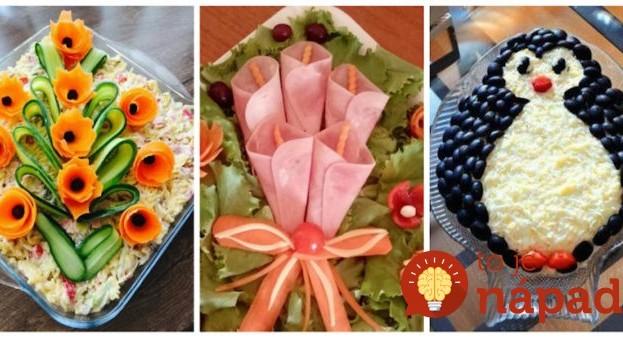 S týmto už netreba na sviatočný stôl žiadne ozdoby: Šikovná žena predviedla, ako servírovať studené jedlá – 23 nápadov, o ktorých budú vaši hostia ešte dlho rozprávať!