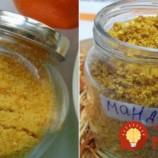 1 lyžička a v momente voňala celá kuchyňa: Na toto sa nechytá žiadna chémia a arómy z obchodu – zlatý peľ z mandarínky vydrží celý rok!