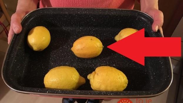 Toto by mal počas zimy vedieť každý: Tušíte, čo dokáže obyčajný citrón, keď ho dáte len na chvíľu do rúry?