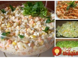 Vymeňte ryžu a zemiaky za tieto šaláty a kilá pôjdu dolu: Najlepšie šaláty na chudnutie a dobré trávenie!