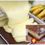Nesmrteľné banánové rezy s čokoládou: Rýchly a výborný zákusok na každú príležitosť, chuť prekvapí aj náročných!