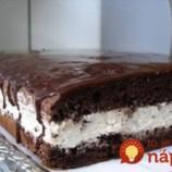 Pekelne dobrý koláč s piškótami: Zabodujte s ním na každej oslave – u nás fičí ešte viac, ako krémeš!