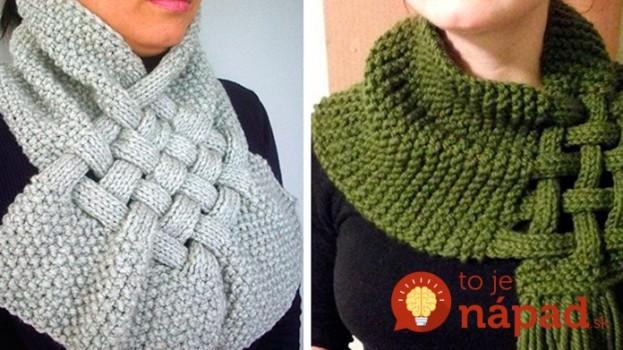 Jednoduchý návod, ako si doma upliesť tento krásny šál – najrýchlejšia metóda: Je to oveľa ľahšie ako si myslíte!
