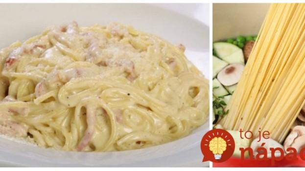 Vyskúšajte to dnes na obed: 11 rýchlych a chutných jedál z cestovín, ktorý pripravíte v jednom hrnci!