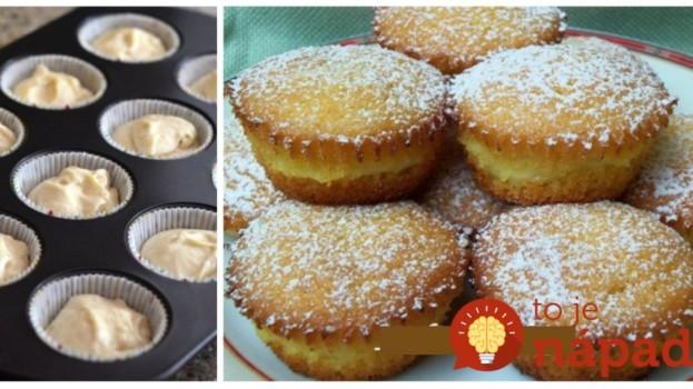Úžasné muffiny, ktoré chutia presne ako koláč z IKEA: Už som piekla veľa receptov, ale na tento nemá žiaden!