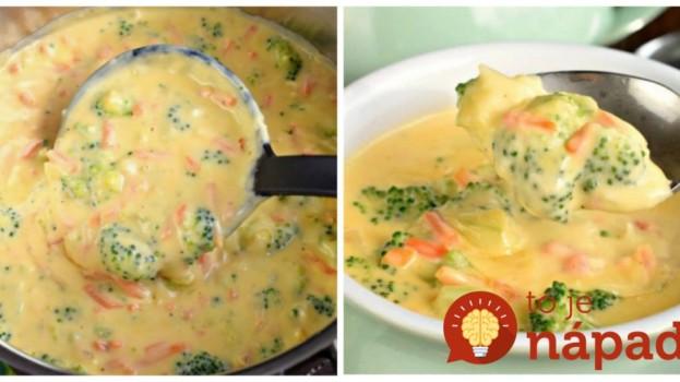 Minútková brokolicová polievka s bambinom: Mamičky, toto pripravíte do 20-minút a deti ju doslova milujú – sýta a úplne fantastická!