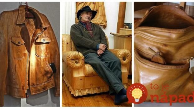 Starý rezbár vytvára vo svojej dielni neskutočné kúsky z dreva: Keď uvidíte ten nábytok, neuveríte vlastným očiam!