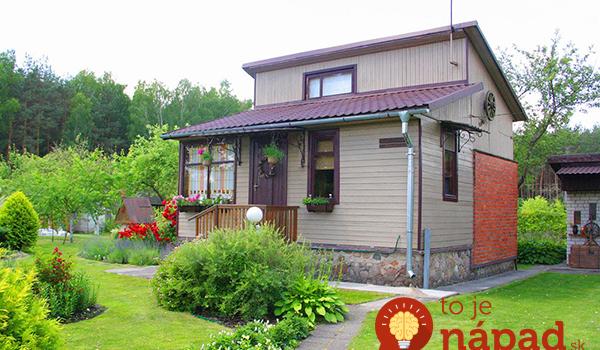 Na dôchodok si kúpili starú chatku pod lesom veľkú len 36 m2: Keď uvidíte, ako si v nej žijú, budete očarení!