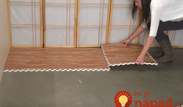 Podlaha ako nová za 5 minút: Geniálny nápad, ako zakryť škaredú dlážku v byte – žiadne búranie, zvládne to každý!