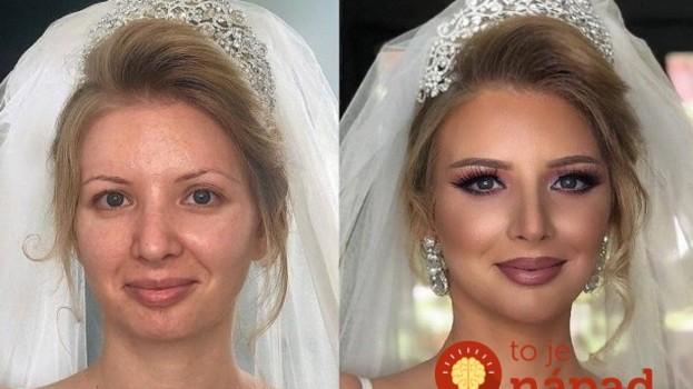Vizážista mení nevesty vo svadobný deň na skutočné kráľovné: Tieto premeny vyrážajú dych!