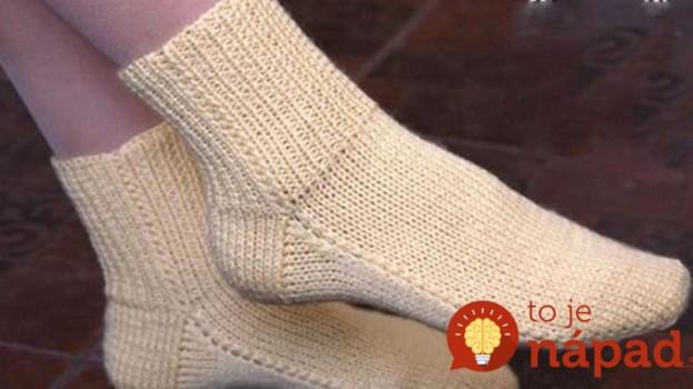 Jednoduchý návod, ako si upliesť krásne ponožky za jeden večer: Žiadne švy, na dvoch ihliciach – najrýchlejšia metóda!