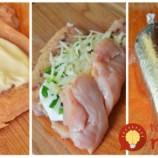 Len kuracie rezne, kyslá smotana, syr a cibuľka – to je všetko: 4 prísady, zabaliť do alobalu a máte nesmierne chutný obed alebo večeru!