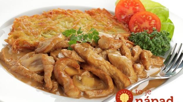 Minútkové kuracie kúsky na cesnaku, slaninke a majoránke: Nesmierne dobrý obed pre zaneprázdnených, chuť luxusná!