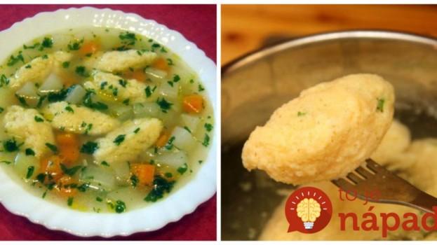 Elixír zdravia a najlepšia polievka na svete: Jarná zeleninová s extra nadýchanými haluškami – 20 minút a je hotová!