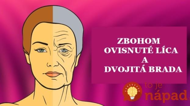 Ženy, kašlite sa na botox, toto je úplne zdarma: Kto pozná tento pohyb, nevie, čo sú ovisnuté líca, dvojitá brada či vrásky na krku!