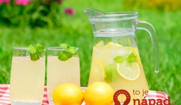 Zázračná limonáda z čerstvej mäty: Najlepší nápoj v horúčave + 19 úžasných účinkov na vaše zdravie!
