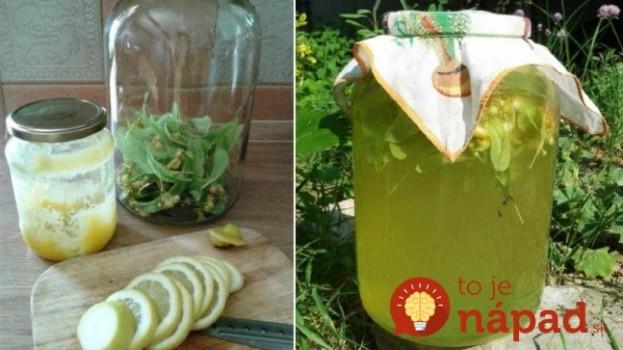 Domáca lipová limonáda: Voňavá, chutná, veľmi užitočná – v horúčave – najlepší nápoj!