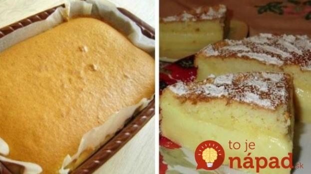 Chytrá torta: Tento zázračný recept sa preslávil po celom svete – žiadna práca a chuť miliónová!