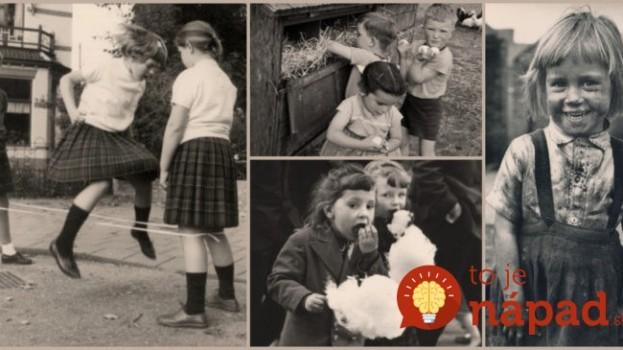 Pamätáte na tie časy? Takto vyzeralo naše detstvo v 70. a 80. rokoch a takto sme vonku s kamarátmi trávili čas!