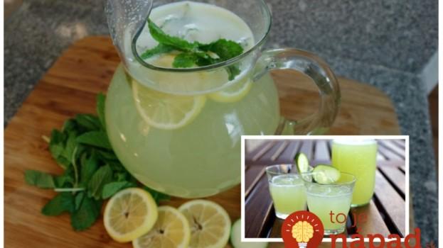 Pomôže k štíhlemu brušku, je zdravá a chutí božsky: Uhorkovo-limetková limonáda, najlepšie letné osvieženie!