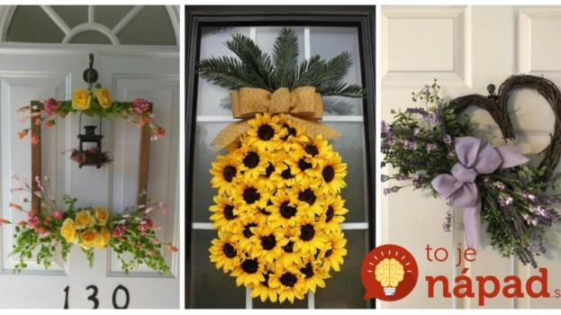 23 prekrásnych nápadov, ako si na vyzdobiť vchodové dvere a verandu: Toto vás bude tešiť celé mesiace až do neskorej jesene!