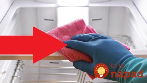Domáci likvidátor zápachu v chladničke – za pár centov: Stačí len otvoriť a ten rozdiel si všimne každý, používam v celej domácnosti!
