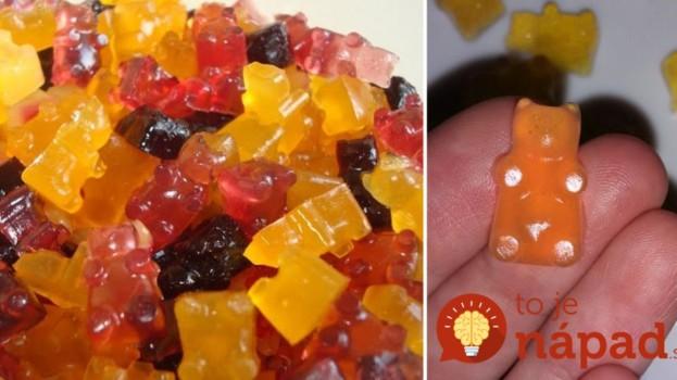 Zdravé želé cukríky bez chémie, len zo 4 prísade: Nekupujte drahé gumové medvedíky v obchode, toto môžete aj na diéte!