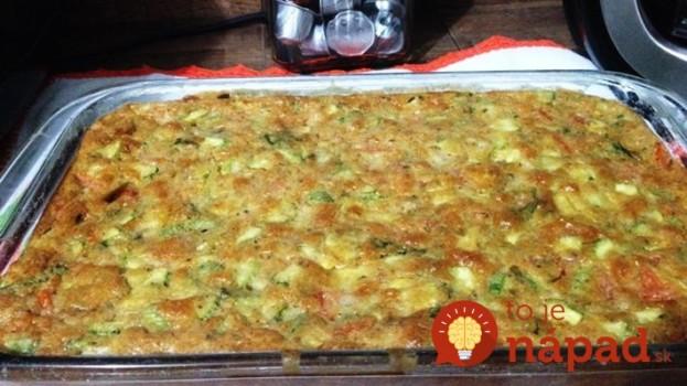 Ľahký cuketový nákyp so syrom a cesnakom: Stačí len všetko zmiešať a dať do rúry – o pol hodinku rozvoniava celá kuchyňa!