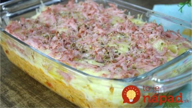 Toto schová do vrecka aj tradičné francuzáky: Labužnícke zemiaky s kyslou smotanou, mozzarellou a šunkou!