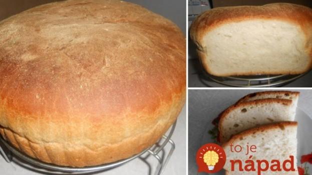 Najjednoduchší domáci chlebík – lacný a treba naň len 4 prísady: Naučte sa tento recept a nepotrebujete pečivo z obchodu!