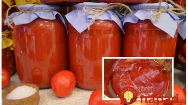 Fantastický pečený kečup pre lenivých: Kto raz skúsi tento spôsob, ku klasickému vareniu v hrnci sa už nevráti!