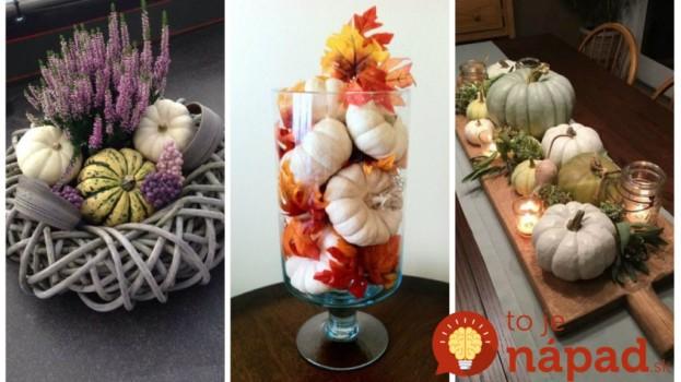 Úžasná nápady na vytvorenie dekorácií, ktoré patria na jesenný stôl: Toto vás bude tešiť celé týždne!