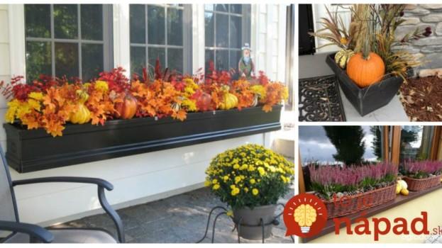 Kvetináče na jeseň neschovávajte, toto je úžasné: 17 nápadov, ako z nich vykúzliť čarovné dekorácie!