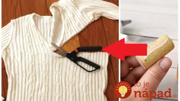 Naučte sa tento nápad zo starého svetra a už nemusíte riešiť jesenné ozdoby do domácnosti: Toto je geniálny nápad!