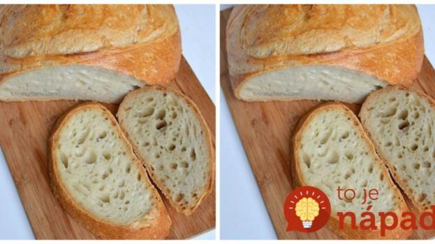 Luxusný domáci chlebík bez miesenia, ktorý sa na 100% vydarí: Držte sa tohoto receptu a úspech máte zaručený!