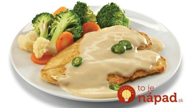 Prírodné kuracie rezne s cesnakom s fantastickou omáčkou: Nesmierne dobrý obed pre zaneprázdnených, chuť luxusná!