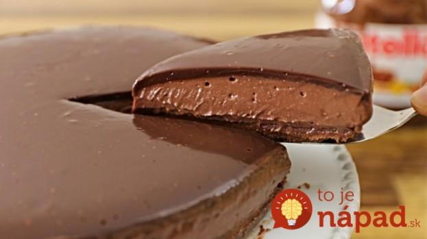 Neskutočná tvarohová torta s Nutellou, bez pečenia a varenia: Bezkonkurenčný recept, do ktorého sa zbláznila celá rodina!